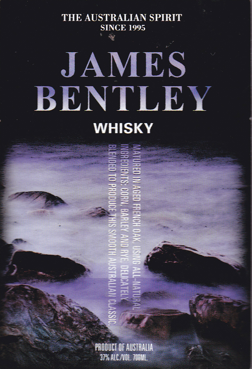 James Bentley Whiskey Case of 12 x 700ml Bottles